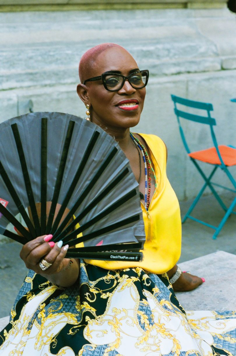 Kim Watson, Co-founder and Vice President, Community Kinship Life, Bronx, NY (services for local Trans community) © Delphine Diallo
