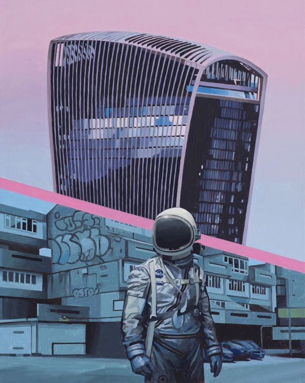 Walkie Talkie, 2019. All images courtesy of the artist. © Scott Listfield