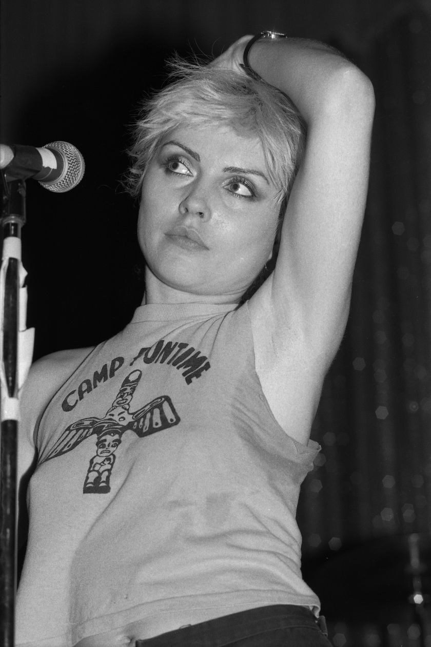 Debbie Harry © Gary Green, from the book When Midnight Comes Around published by STANLEY/BARKER