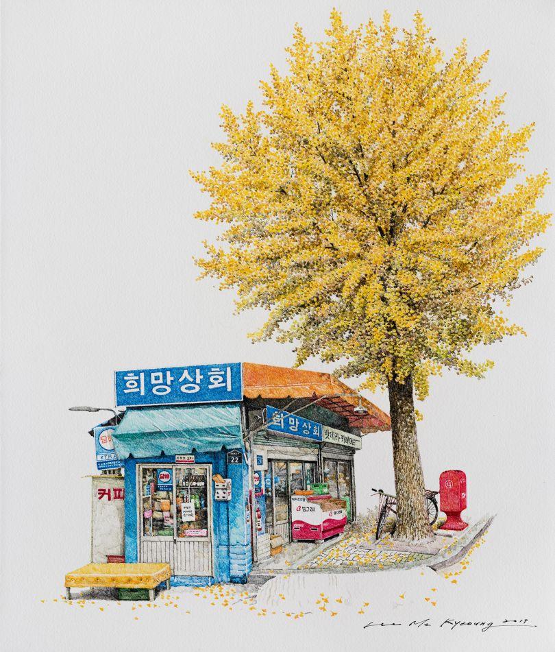 Heemang store, 2019 © Me Kyeoung Lee