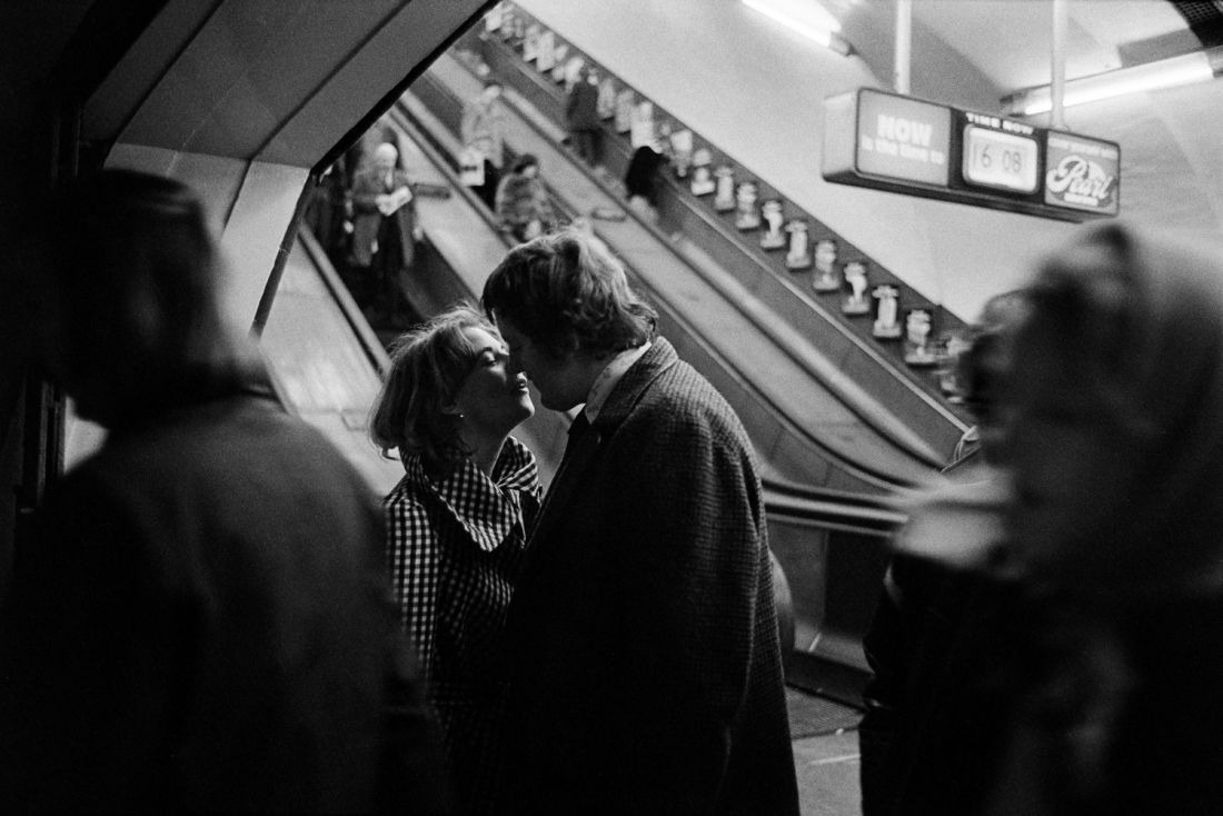 Intimate and funny photographs of life on the London Underground back in the 1970s
