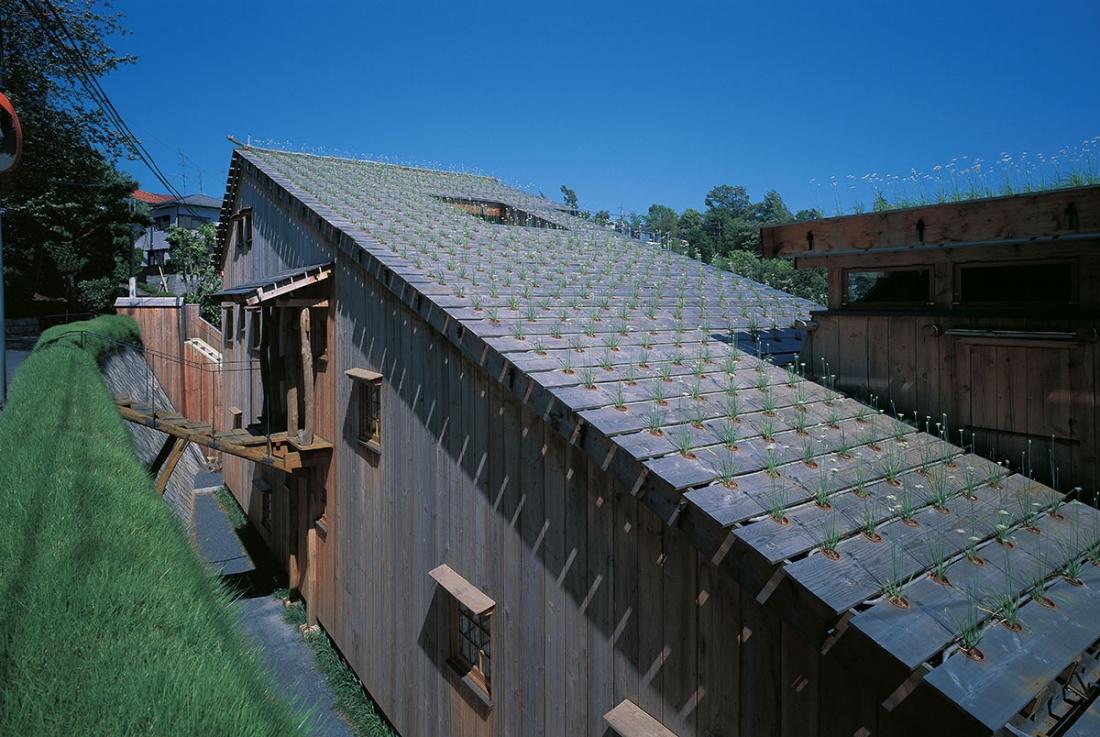 Terunobu Fujimori Leek House, 1997 Photo by Akihisa Masuda
