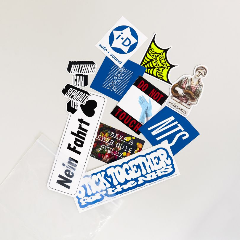Sticker Archive presents Stick Together for the NHS