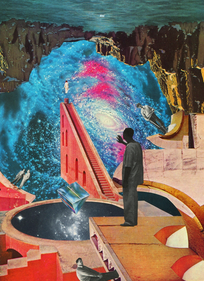 Andrew Mcgranahan S Surreal Amp Psychedelic Collage Art