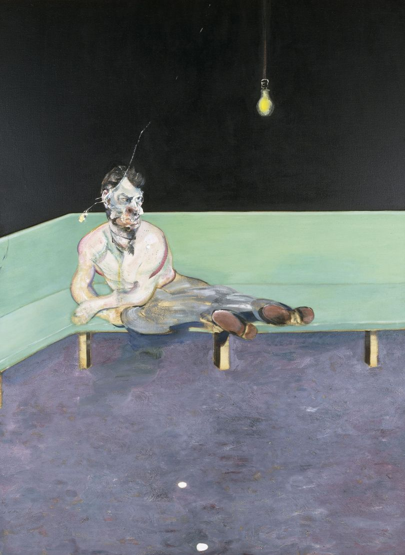Francis Bacon (1909-1992) Study for Portrait of Lucian Freud 1964 Oil paint on canvas, 1980 x 1476 mm The Lewis Collection © The Estate of Francis Bacon. All rights reserved. DACS, London. Photo: Prudence Cuming Associates Ltd.