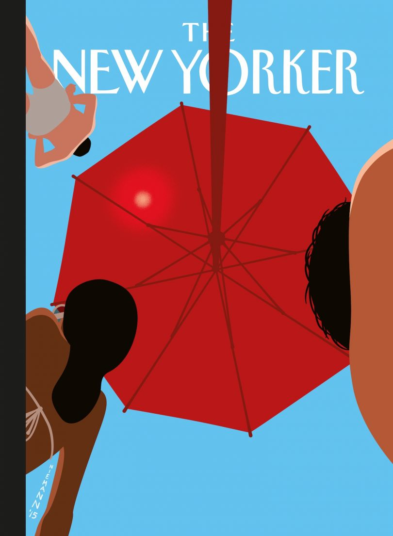 Beach, cover for The New Yorker, October 6 2014