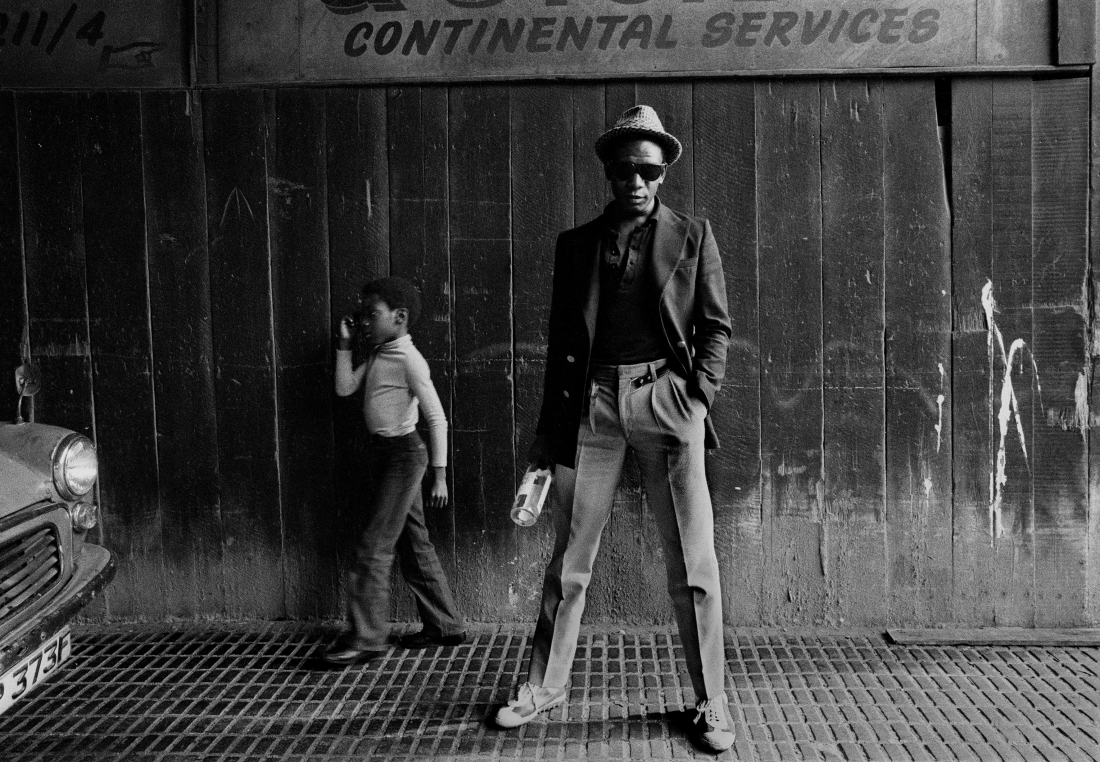 Bagga (Bevin Fagan) Hackney, East London, 1979 © Syd Shelton