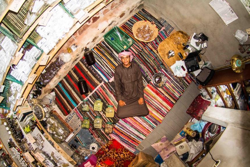 Mohamed, student in Saint Catherine, Egypt - room #807