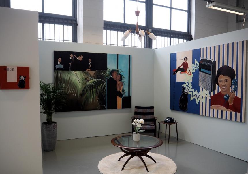 Lydia Blakeley, degree show installation shot, June 2016.