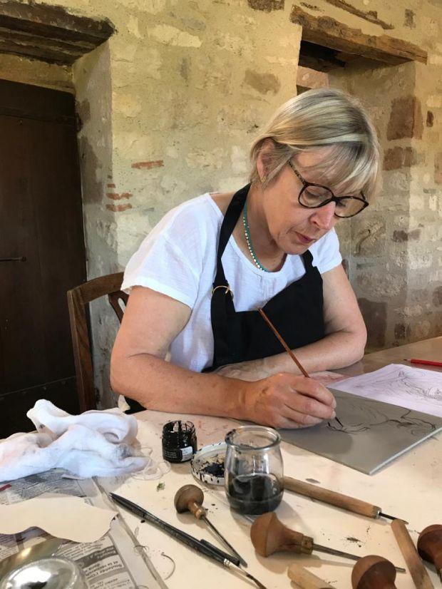 Eileen at work