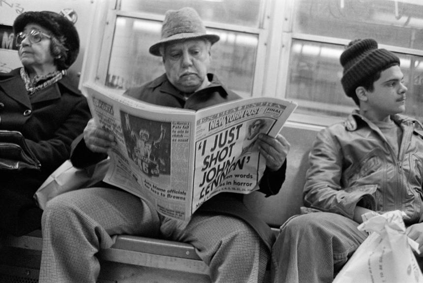 (escapades on the) D Train 1980 | © Edward Grazda