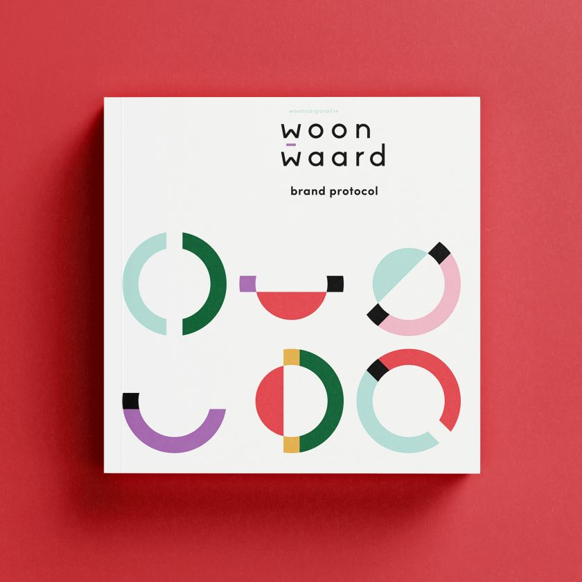 Woonwaard Rebranding by Ruud Winder-Rebrandt, winner in the Graphics, Illustration and Visual Communication Design Category, 2020-2021.