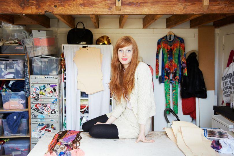 Isobel Webster - fashion designer. All images courtesy of Jenny Lewis