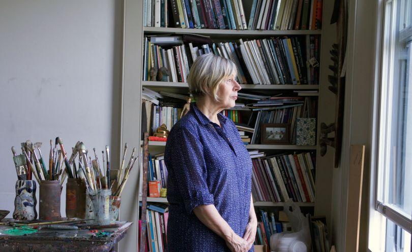 Eileen Cooper, Studio Portrait, Courtesy of Huxley-Parlour Gallery