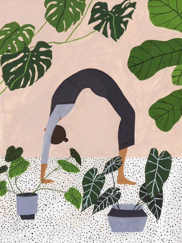 Yoga © Rachel Hillis