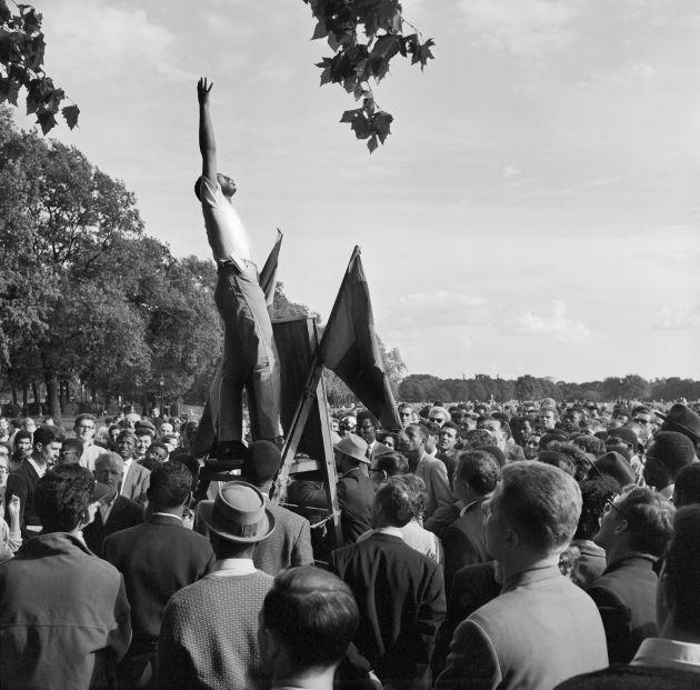 1962-64, Speaker's Corner, Hyde Park, Copyright Historic England