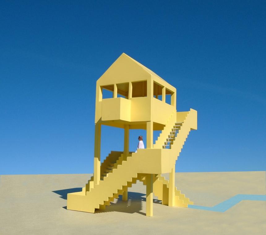 The Meandering Staircase Pavilion - © Michael Jantzen