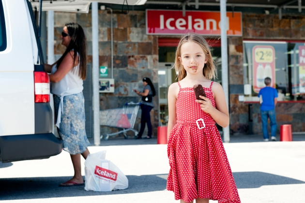 Francesca was born in Spain and is schooled in the Spanish education system; she is also a British citizen. She enjoys chocolate ice-lollies from the Iceland store that her mother occasionally visits to purchase British goods. All images courtesy of the artist. Via Creative Boom submission.
