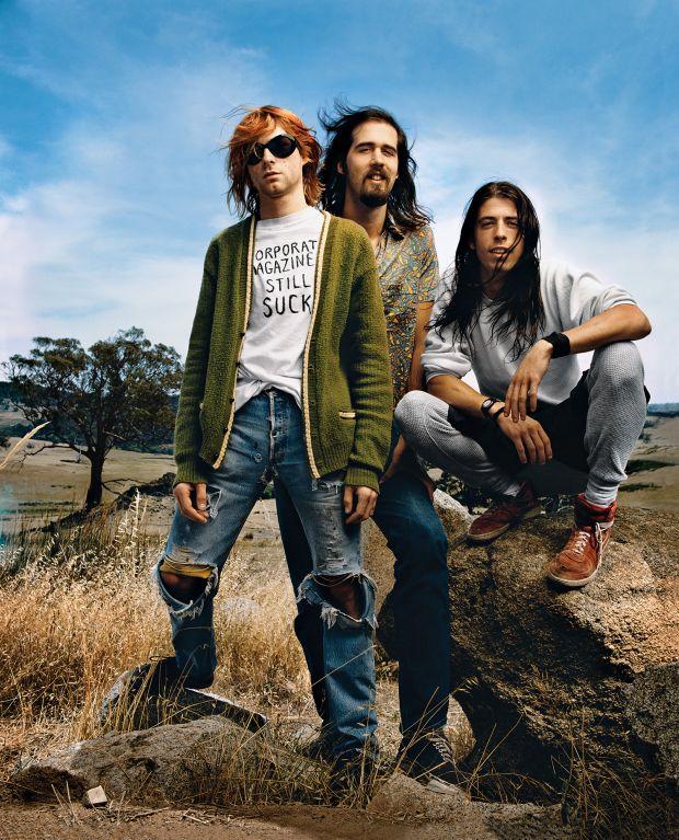 Image credit: Nirvana, Mark Seliger, 1992