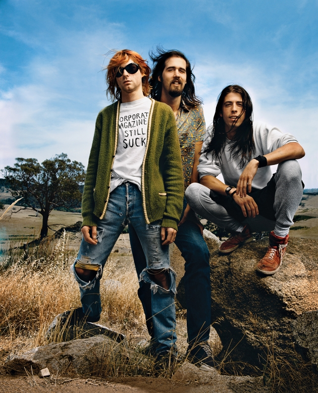 Image credit: Nirvana, Mark Seliger, 1992
