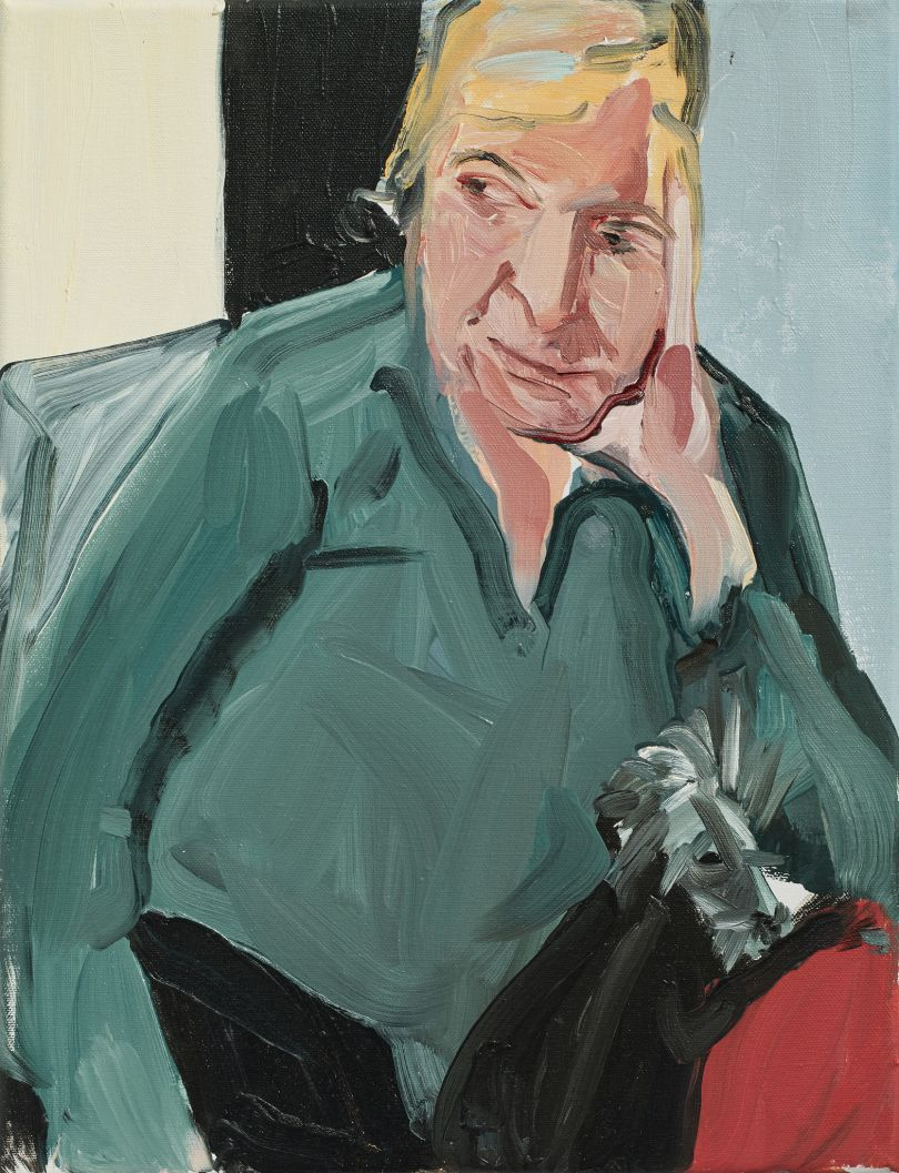 My Mother with Fern, 2017. Copyright: Chantal Joffe  Courtesy the artist and Victoria Miro, London / Venice