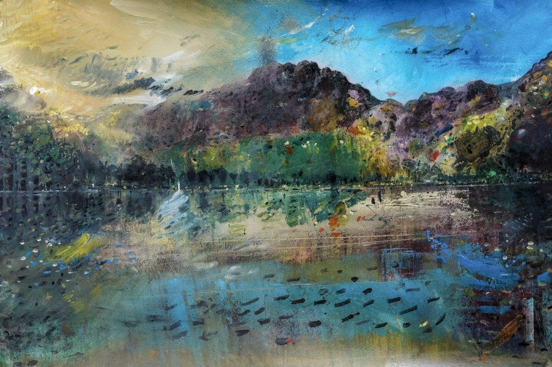 Kane Cunningham's contemporary landscape paintings of the beautiful North