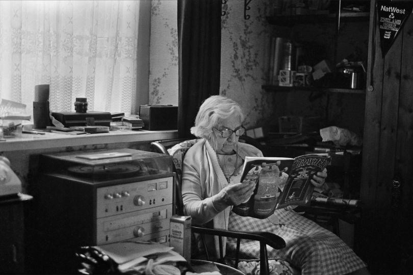 Skin Phillips, Grandma Thrasher, 1984. Swansea