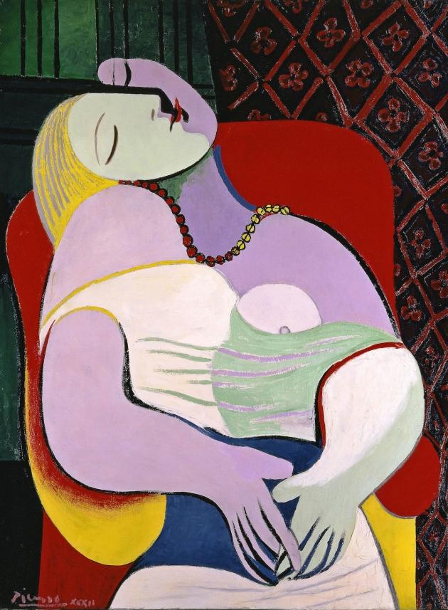 Pablo Picasso Le Rêve (The Dream) 1932 Private collection © Succession Picasso/ DACS London, 2017