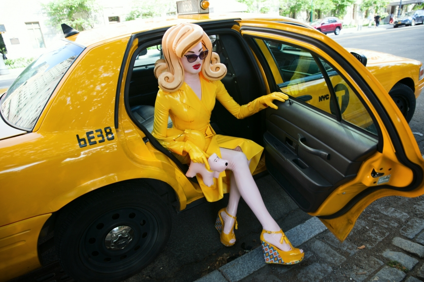 Pandemonia – New York Taxi | Photo: Simon Cave