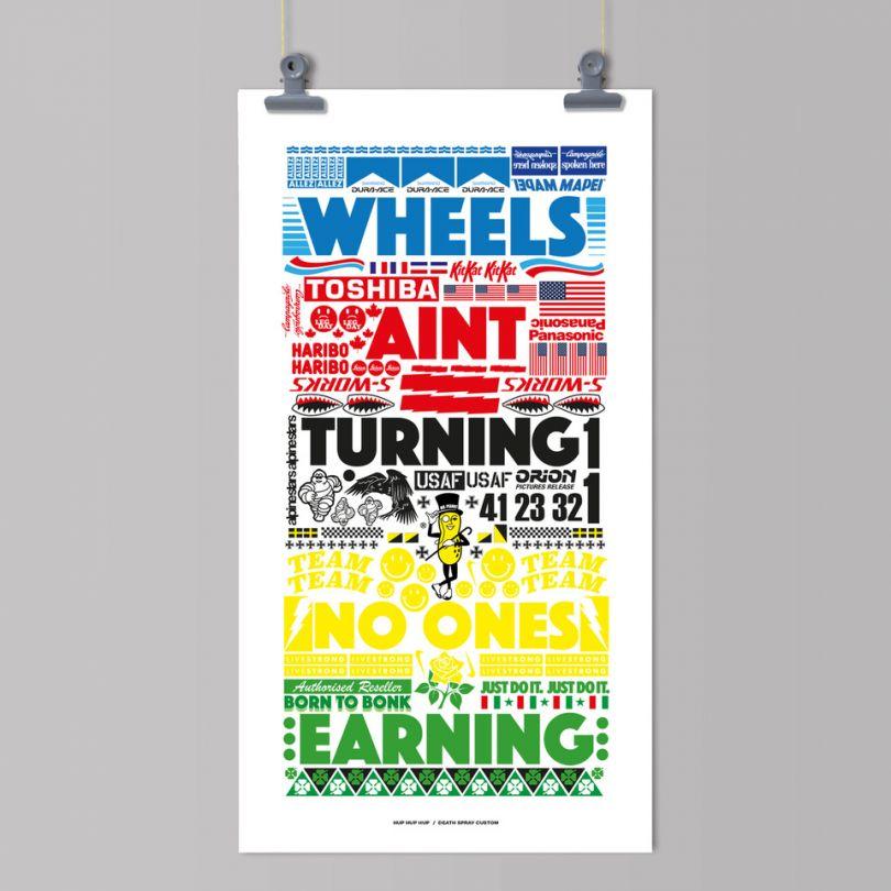 Wheels Ain't Turning by  Death Spray Custom