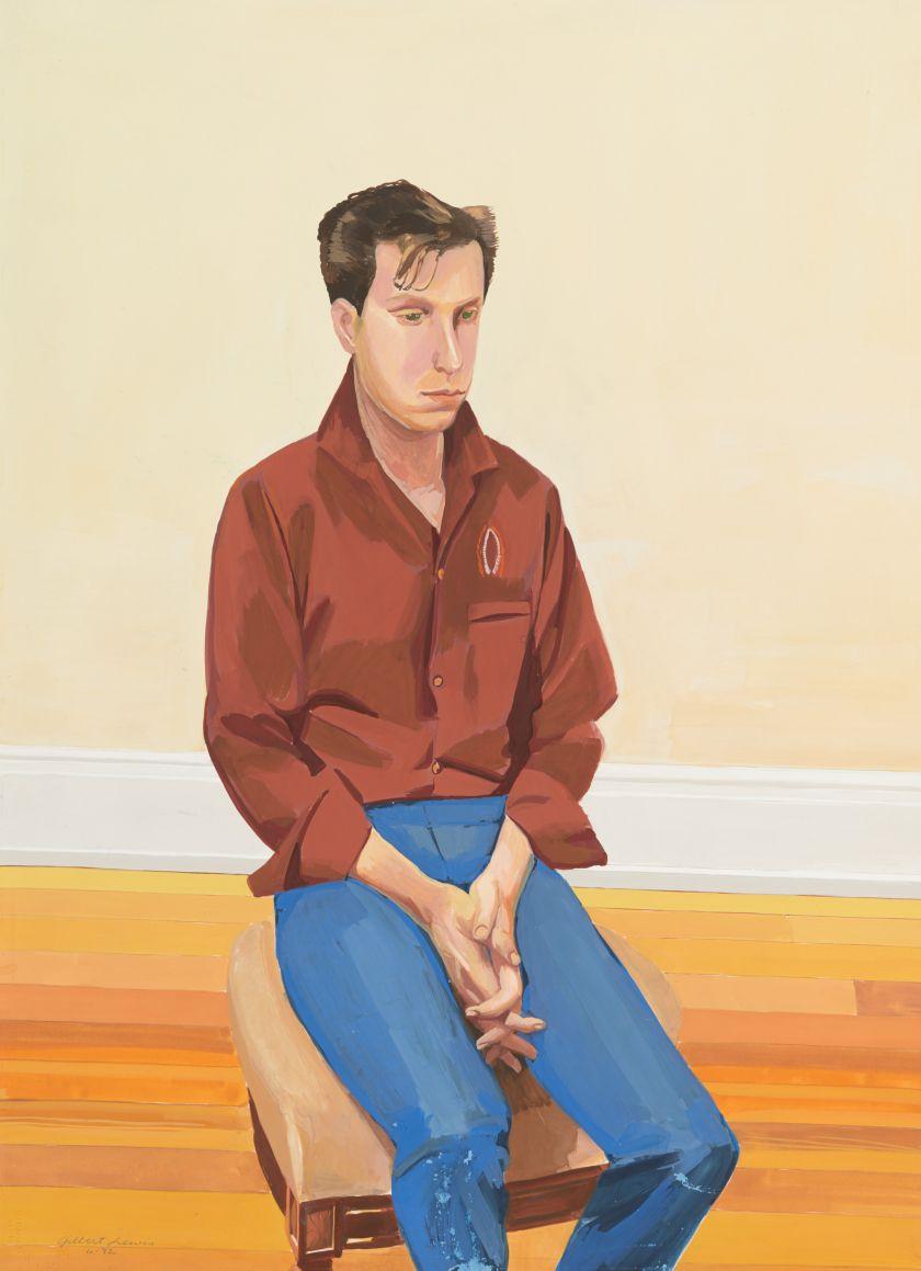 Lewis, Untitled (Brown Hair Portrait), 1982