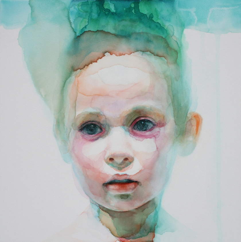 Immerse yourself in beautifully innocent watercolour for Paintings of toddlers