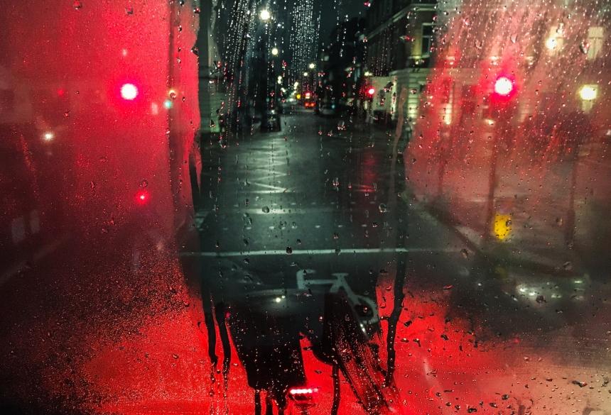 Denis Cherim, Madrid, Spain, London Bus © Denis Cherim, 2017