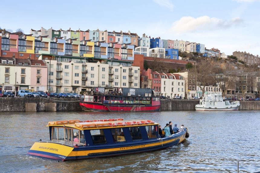 "The colorful buildings in the Hotwells area of Bristol. Image Credit: <a href=""http://www.shutterstock.com/gallery-1368298p1.html?cr=00&pl=edit-00"">antb</a> / <a href=""http://www.shutterstock.com/?cr=00&pl=edit-00"">Shutterstock.com</a>"