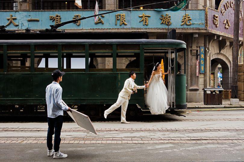 Wedding Photo Shoot, Shanghai Film Park © Mark Parascandola