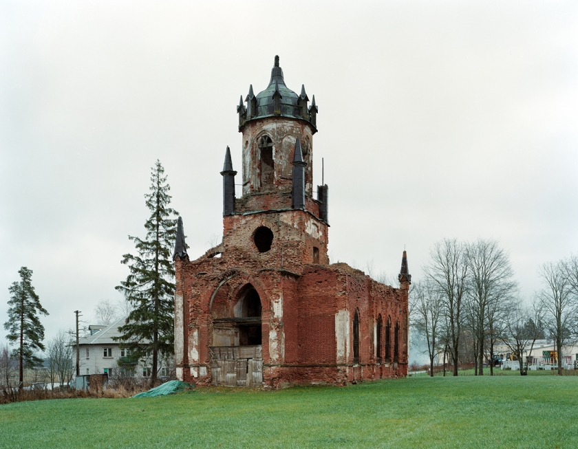 Ruins - Petr Antonov: The series reflects on the role and place of the ruined church in contemporary Russian landscape, and on how it relates to the perception of time and history in present-day Russia. (Professional Architecture)