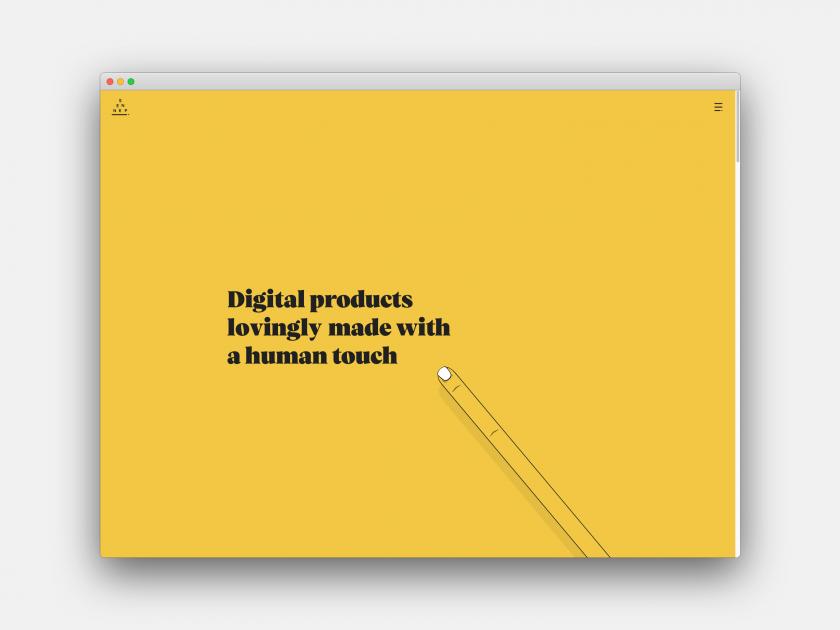 Sennep, demonstrating the 3D Design and Multimedia trend