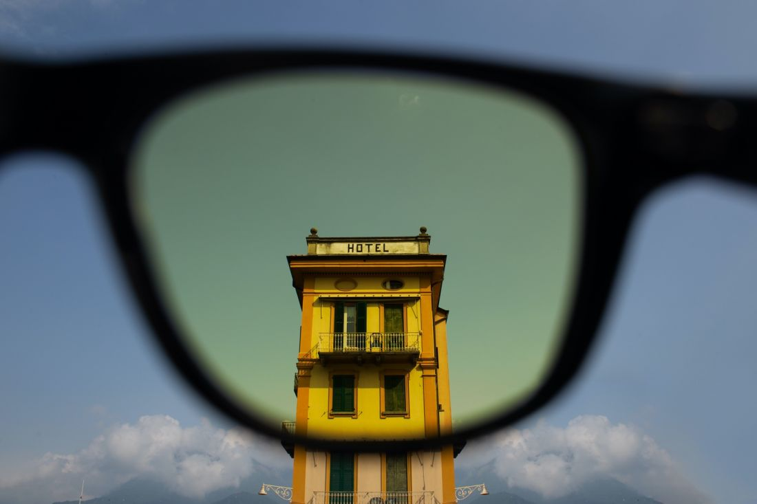 Wes Anderson-inspired... sunglasses, with their very own short film