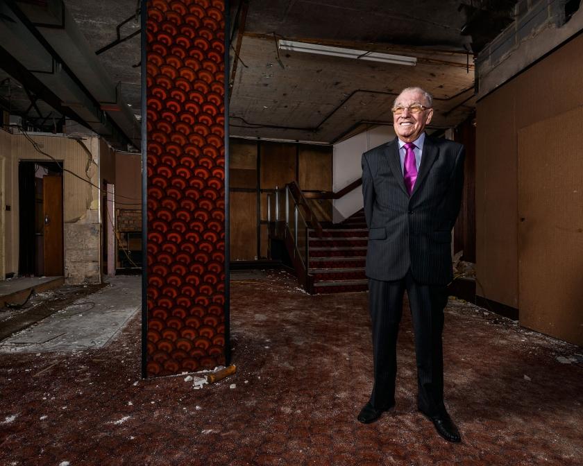 Phil Fawke, Odeon Queensway, Birmingham - Copyright © Richard Nicholson, 2016