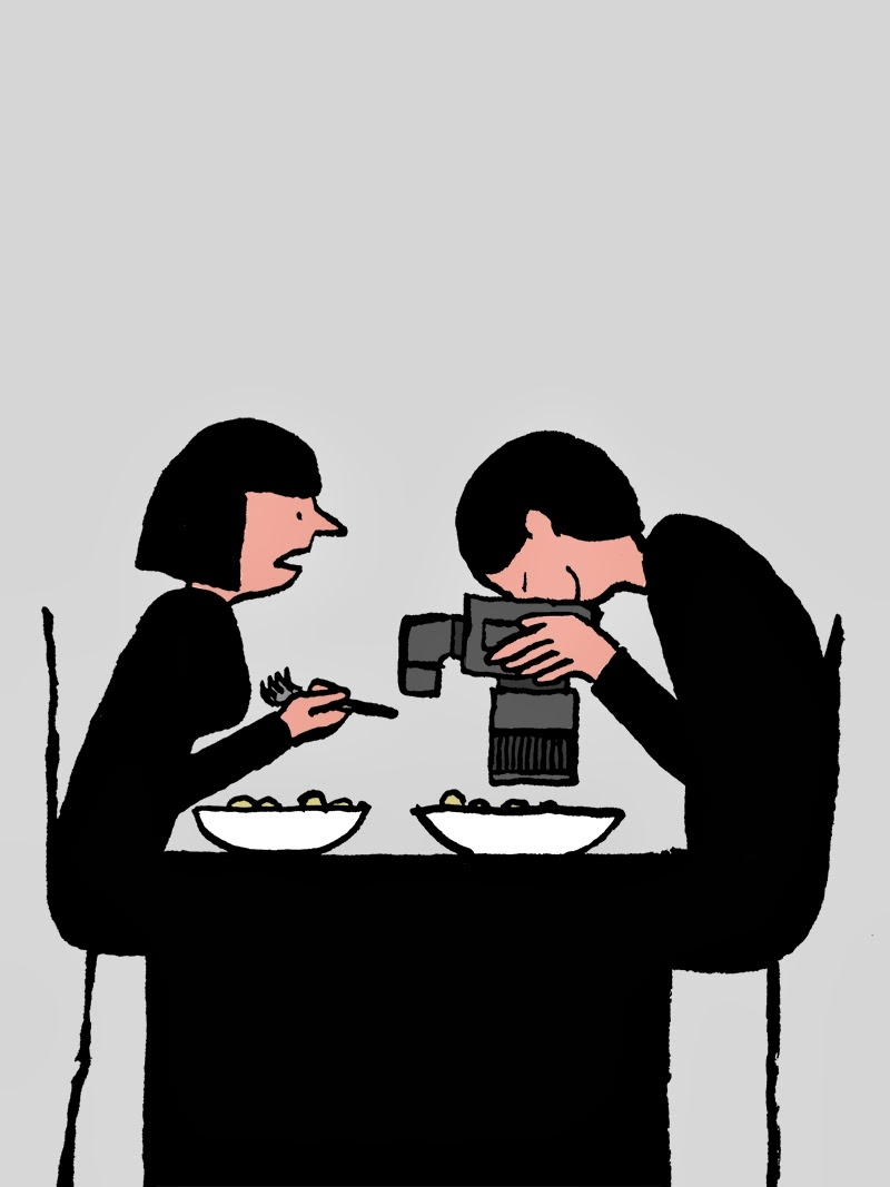 """Series of modern life observations, presented at """"US"""", Jullien's solo show at Kemistry Gallery in December 2014."""