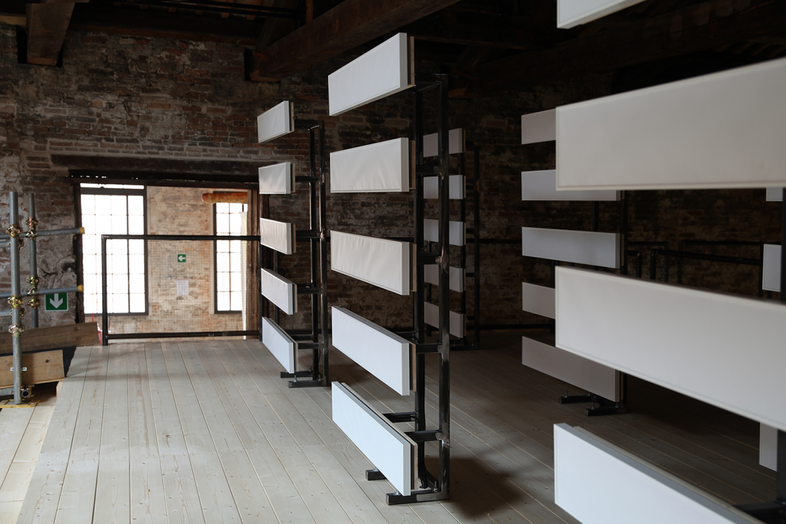 ÇIN (2017), Cevdet Erek. Pavilion of Turkey at the 57th Venice Biennale, installation view, Photo Credit: RMphotostudio