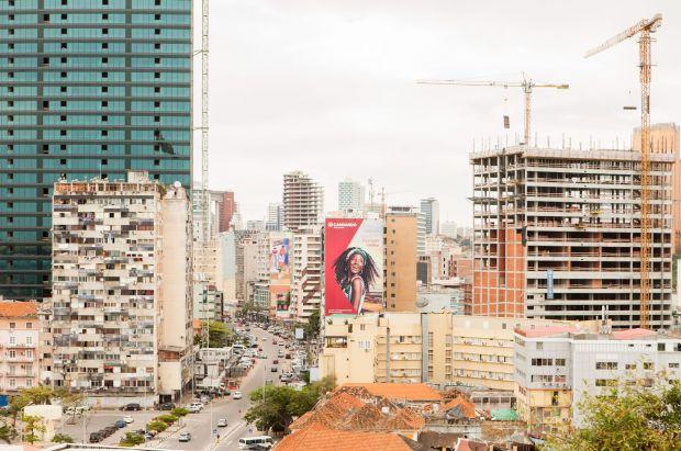 A view of Luanda skyscrapers