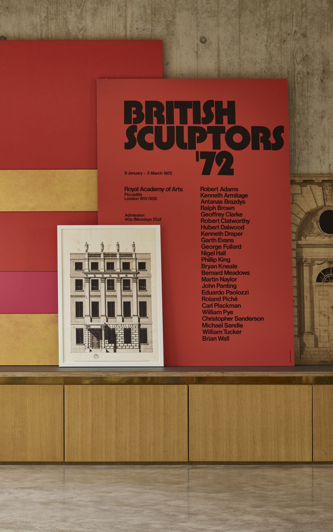 RA British Sculptors Exhibition 1972 Epic Poster​ from the Royal Academy of Arts Collection