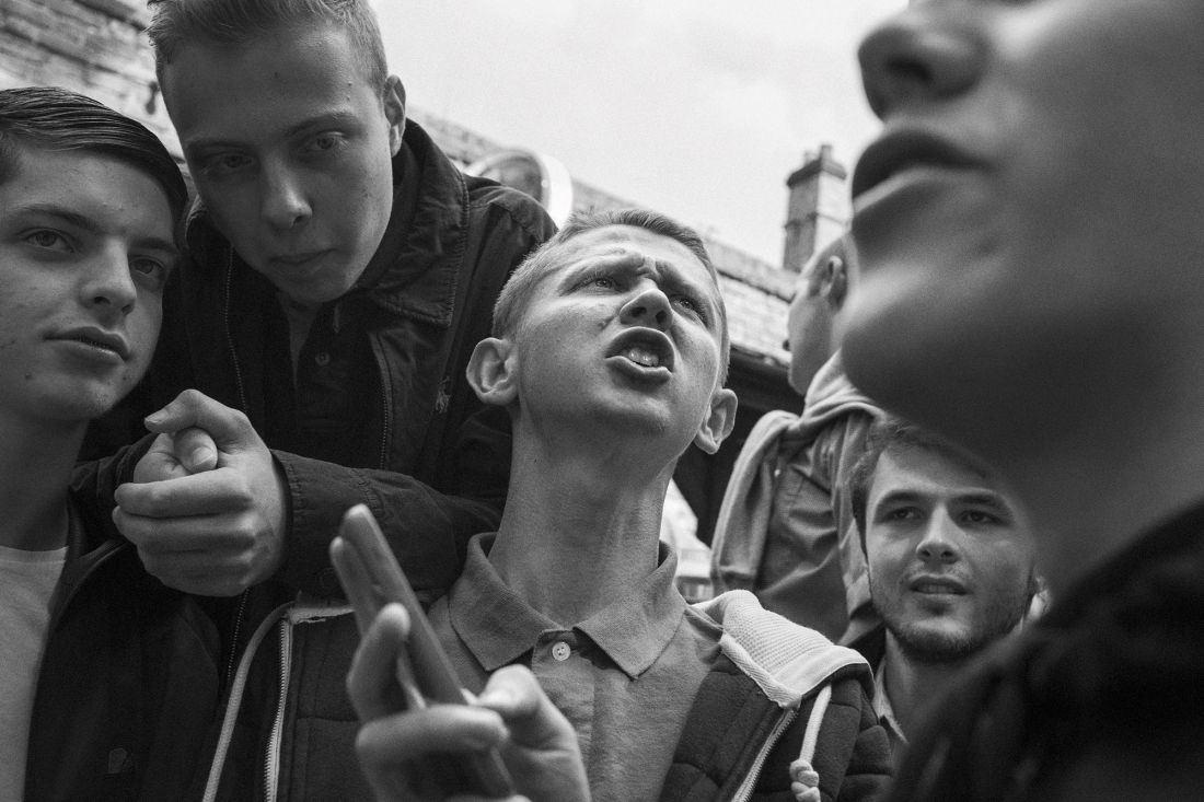 Martin Andersen's charged and emotional photographs of diehard Tottenham Hotspur football fans