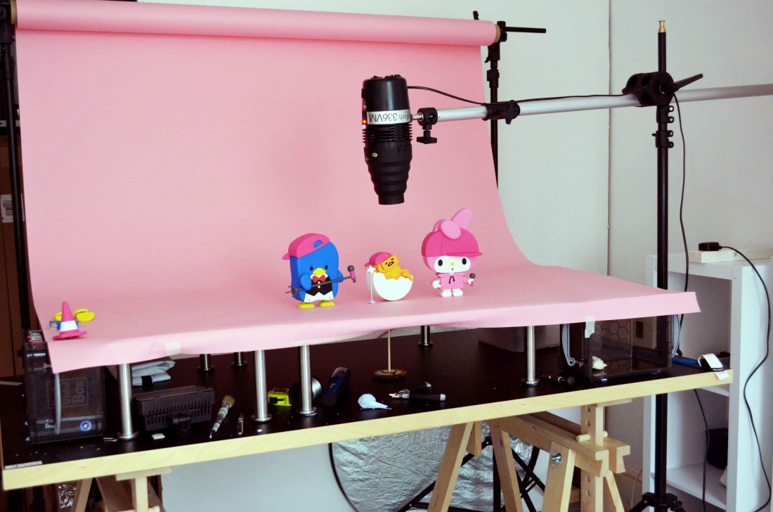 Cute wooden stop motion animation features Hello Kitty and friends ...