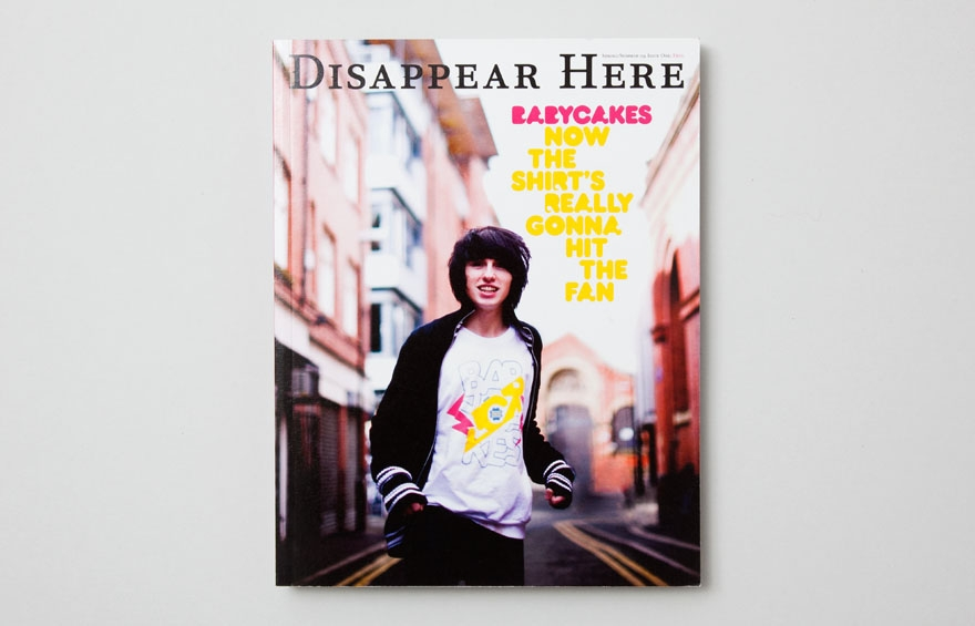 Disappear Here Issue 01