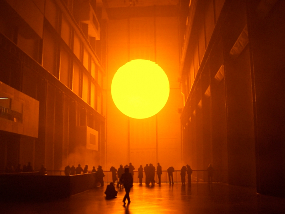 Olafur Eliassion, The Weather Project. Photo: Olafur Eliasson / Tate, London