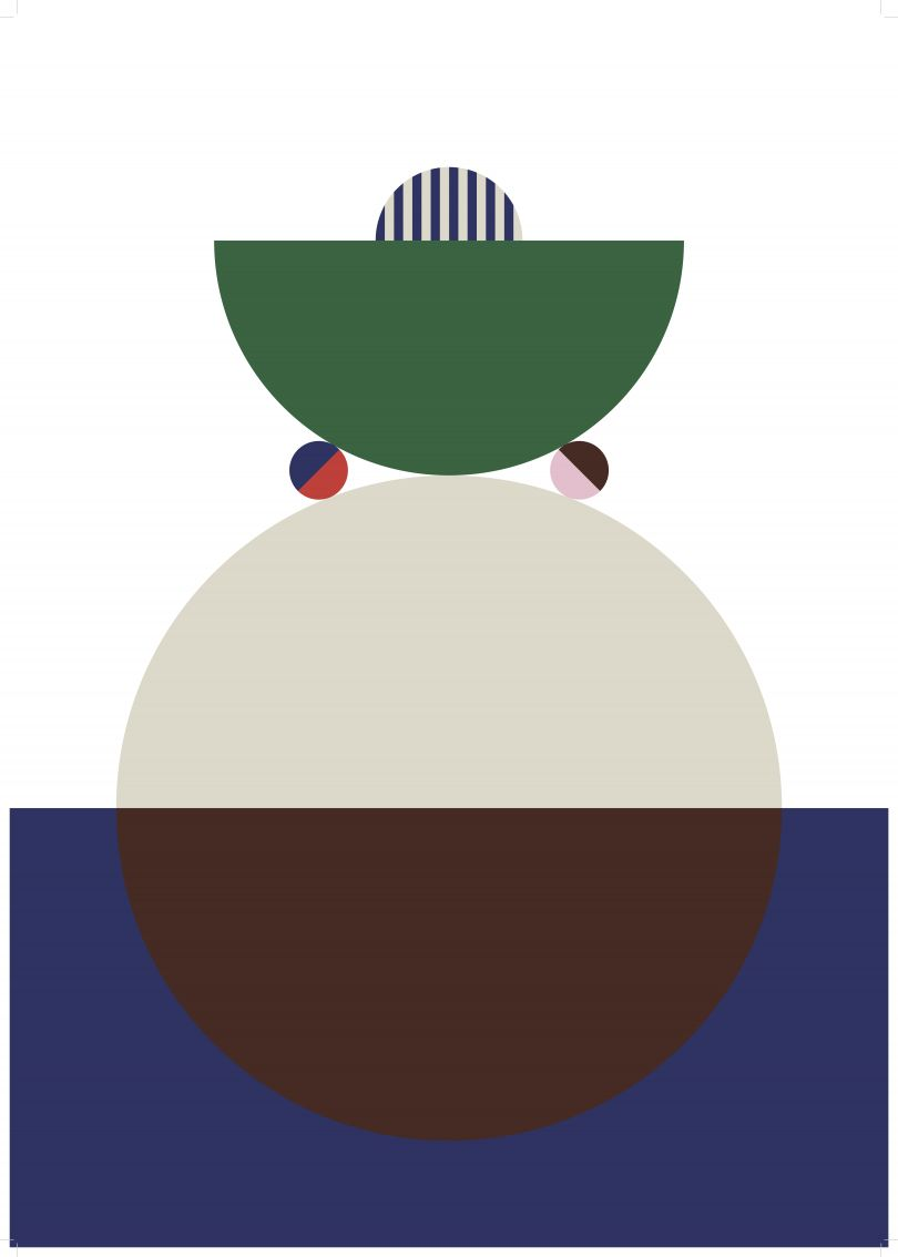 Belgian graphic designer [Stephanie Specht](http://stephaniespecht.com/)'s opener highlights the similarities between the two creatives' approaches