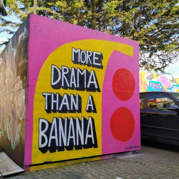 More Drama (Tottenham Mural) © Angry Dan