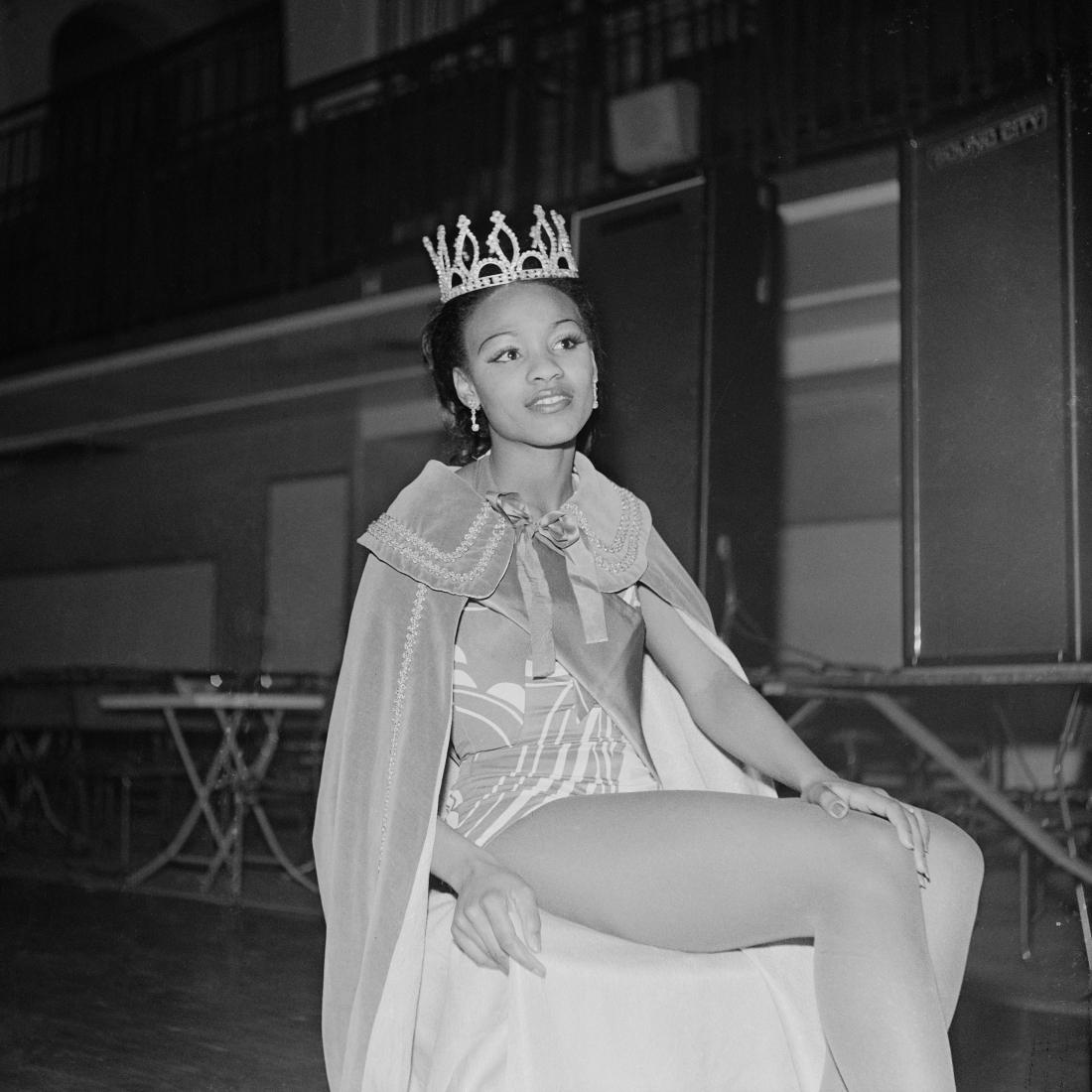 (unidentified) Beauty queen, London, 1970s. From the portfolio 'Black Beauty Pageants'. © Raphael Albert, courtesy Autograph ABP